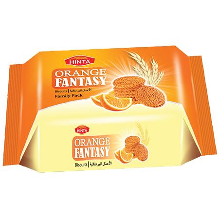 Orange Fantasy Biscuits Family